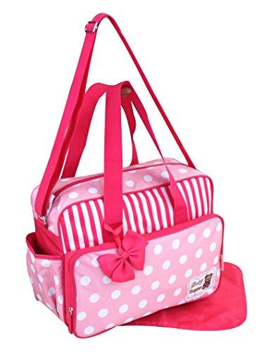 GMMH 2piezas bolso cambiador 3130Bolsa de bolsa para pañales Baby funda Selección de Colores rosa rosa rosa