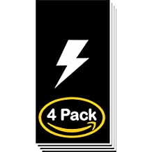 "Matte Black/White 1/16"" Laser Engraving Supplies Premium Material Plastic 