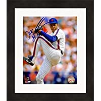 $81 » Autograph Warehouse 625096 8 x 10 in. Dwight Gooden Autographed Photo - New York Mets - No.11Iinscribed 86 WSC Matted &…