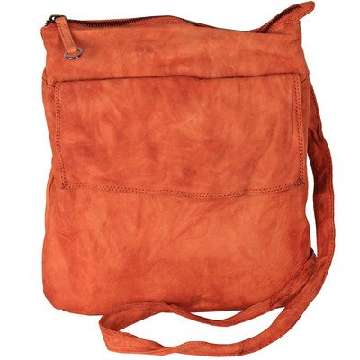 Sol Myla Shoulder Bag Color: Orange by Latico