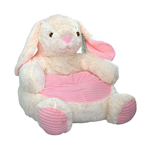 Kelly Toy Bunny Rabbit Plush Chair with Pink Seat 18