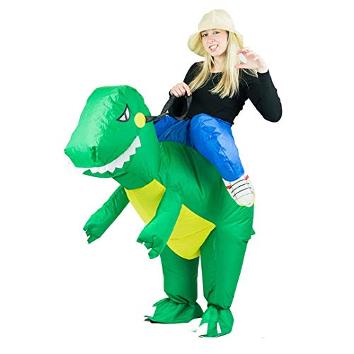 Bodysocks Adult Inflatable Dinosaur Fancy Dress Costume