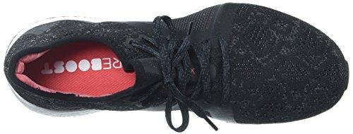 Adidas Dames Pureboost X Element Loopschoen Grijs Vijf / Zwart Kern / Echt Koraal