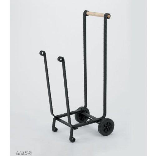ホイール付きウッドフィールドブラックウッドカート B00099ZFTS