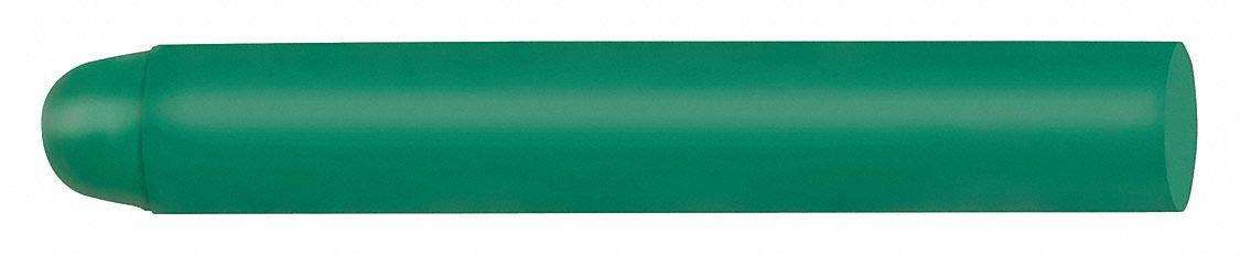 Lumber Crayon, Greens Color Family, Bullet Tip Shape, 40°F Min. Temp, 12 PK by  (Image #1)