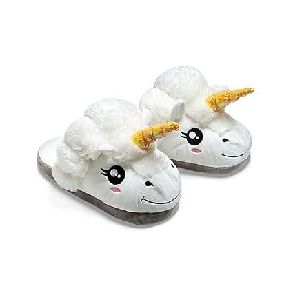 Zapatillas de felpa Unicornio