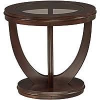 Standard Furniture 23762 La Jolla End Table, Brown