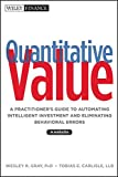 Quantitative Value, + Web Site 1st Edition