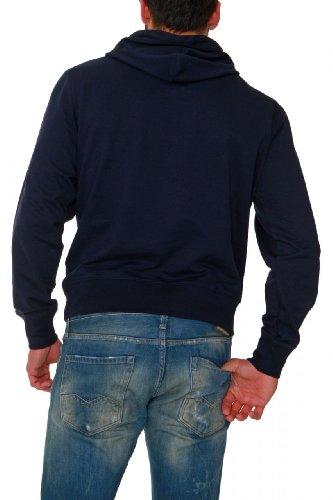 GANT Hooded Sweatshirt NHCT HOODIE NEW HAVEN, Color: Dark blue, Size: M