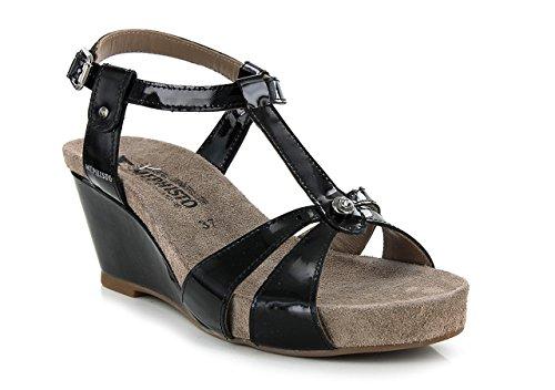 Mephisto - Zapatos de Vestir Mujer, Negro (negro), 36