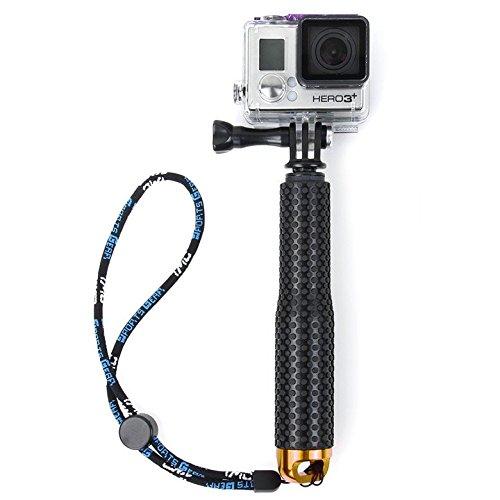flycoo Pértiga de selfie para cámara de acción para GoPro Hero 5 4 ...