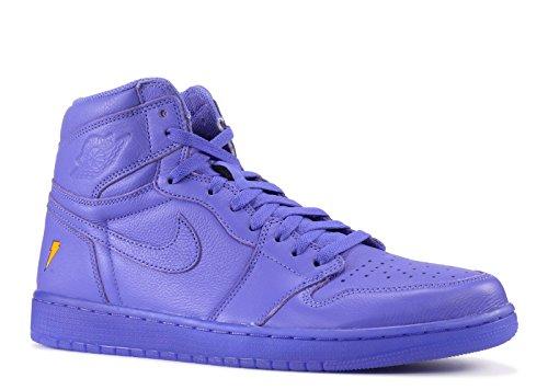 Nike Air Jordan 1 Retro Hi OG G8Rd Zapatillas Deportivas para Hombre Aj5997, Rush Violet/Rush Violet, 9.5 M US