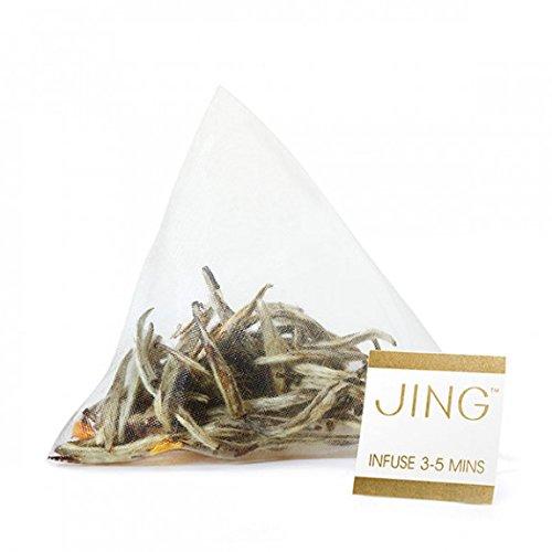 JING Tea - Jasmine Silver Needle Tea Bags - 100 Tea bags (100 count)
