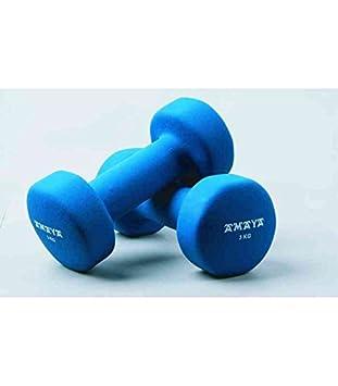 Amaya Sports - Mancuernas de vinilo 3 kg par: Amazon.es: Juguetes y juegos