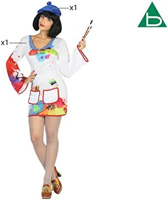 Atosa-30756 Disfraz pintora, M-L (30756): Amazon.es: Juguetes y juegos