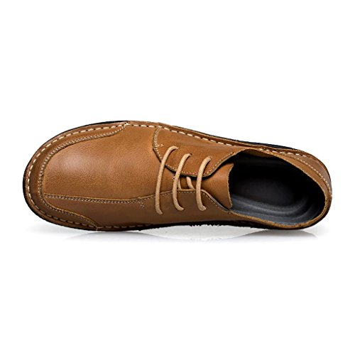 Cuero Trabajo Conducción Antideslizantes M Casuales Los Hombre amp;m De Zapatos Brown xRqwU0zUE