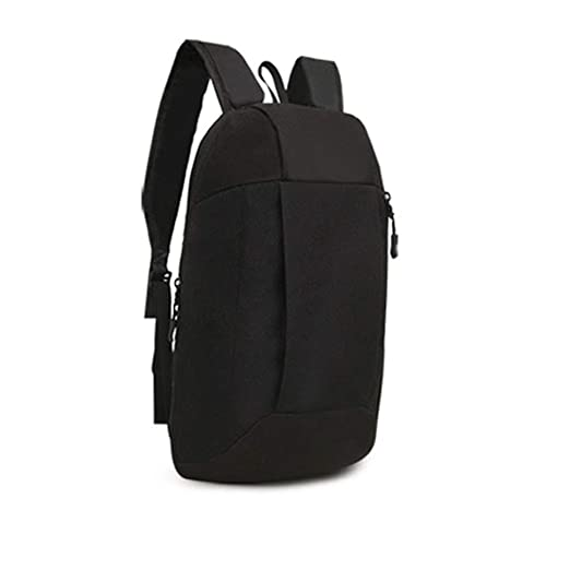 153b863200 Sports Backpack Hiking Rucksack Men Women Unisex Schoolbags Satchel Bag  Shoulder Bags (Black)