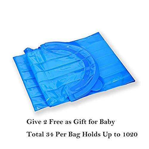 Diaper Pail Refill Bags (1020 Counts) Fully Compatible with Arm&Hammer Disposal System (One Item) by TESSES (Image #3)