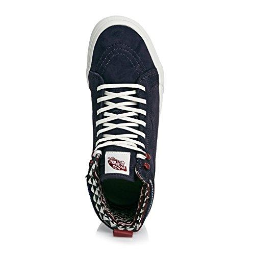 Vans Womens Sk8-hi Mte Notte Parigina / Blanc De Blanc Sneaker - 7