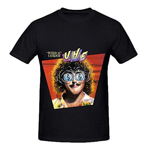 Weird Al' Yankovic Uhf And Other Stuff Electronica Men O Neck Printed Shirt