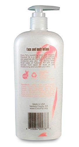 Coco-Fiji-Moisturizing-Face-and-Body-Organic-Coconut-Oil-Lotion-Tuberose-12-Ounce
