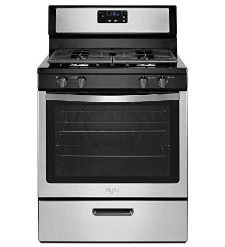 Whirlpool 30-inch Freestanding Gas Range with Broiler Drawer Stainless Steel