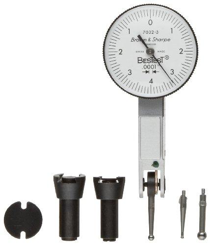 Brown & Sharp 599-7032-6 Dial Test Indicator Set, Top Mou...