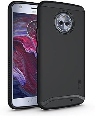 TUDIA Moto X4 Funda, Caja Protectora Merge Tarea Pesada Protección Extreme de Doble Capa para Motorola Moto X4 (Negro Mate): Amazon.es: Hogar