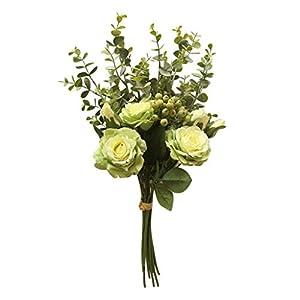 wuliLINL Hydrangea Artificial Silk Flowers Silk Bunch Bouquet Home Wedding Party Decor 2