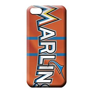 iPhone 4/4s Classic shell PC Back Covers Snap On Cases For phone mobile phone cases miami marlins mlb baseball