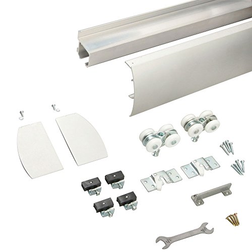 Knape & Vogt R-WM-M250A-A-8 Wall Mount Door Hardware Incl...