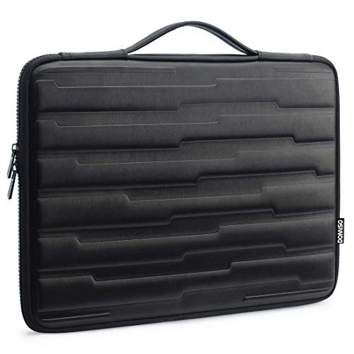 DOMISO 15.6 Inch Shock Resistant Laptop Sleeve with Handle Protective Case Compatible with 15.6