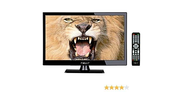Nevir NVR-7508-19HD-N 19 HD-Ready Negro - Televisor (HD Ready, Auto, Zoom, 1366 768, 1920 x 1080 (HD 1080), 1000:1, Negro, Edge-LED): Amazon.es: Electrónica