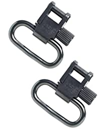 Uncle Mike Non Tri-Lock Sling Swivels (Blued, 1-Inch Loop)