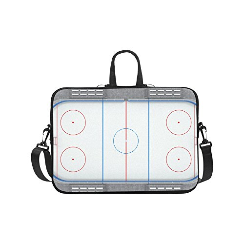 (Laptop Sleeve Case 15 15.2 Inch,Ice Hockey Field Resistant Neoprene Laptop Sleeve Notebook Computer Pocket Case Tablet Briefcase Carrying Bag Laptop Shoulder Bag)