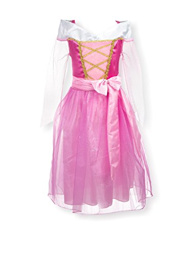 [My Princess Academy Girls Elegant Costume Character Dress Pink Small] (Make Poodle Skirt Costumes)