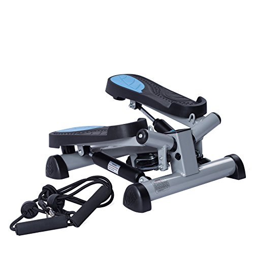 Twist Fitness Stepper Step Macine with Resistance Bands by EFITMENT S023