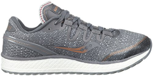 Saucony de Gris Femme Den Freedom Iso Fitness Chaussures Cop 30 Gry qraUqptw