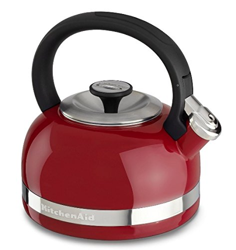 KitchenAid KTEN20DBER 2.0-Quart Kettle with Full Handle and Trim Band - Empire Red
