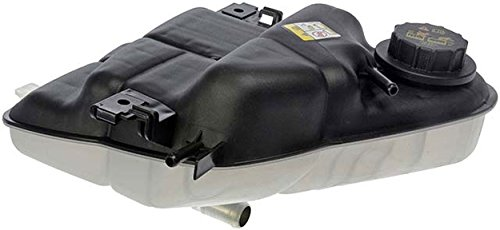 APDTY 714328 Radiator Coolant Recovery Degas Reservoir Overflow Expansion Plastic Tank Bottle w/Cap Fits 2003-2007 Ford Truck w/ 6.0L Diesel Engine (Replaces 6C3Z8A080B, - 2007 Ford Truck