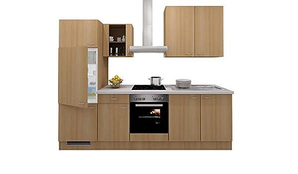 Smart Möbel - Bloque de Cocina (270 cm, Haya, con fogón, frigorífico y Fregadero): Amazon.es: Juguetes y juegos