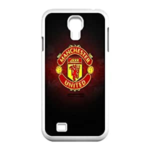 Manchester United Logo Samsung Galaxy S4 9500 Cell Phone Case White gift PJZ003-7541707
