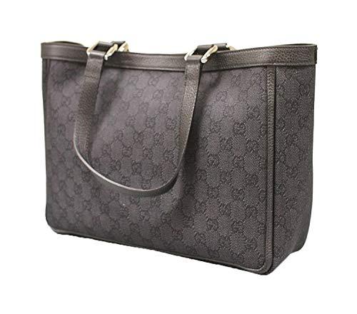 Gucci Black Denim Abbey Tote Handbag Purse 268639 1160 ... 4c0c5a9eb2add