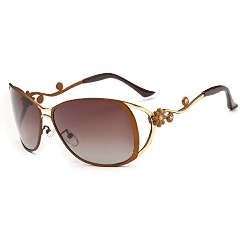 A-Royal 2016 New Fashion Womens Oversized Polarized Gradient Lens - Aviator Review Sunglasses Ao