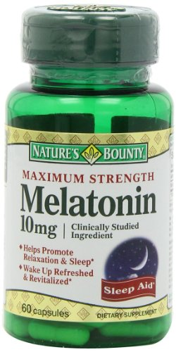 Natures Maximum Strength Melatonin Capsules