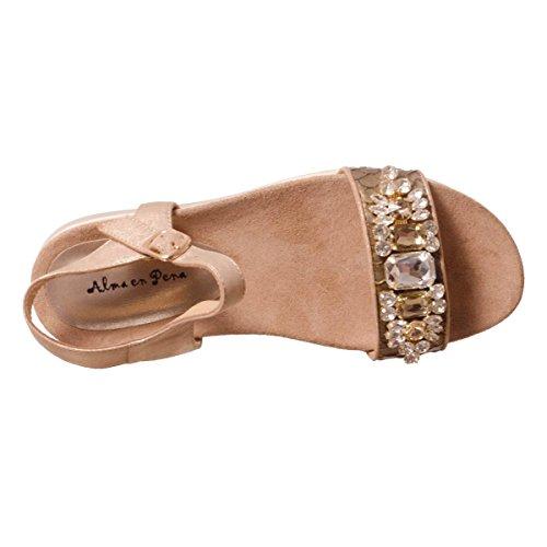 Alma en Pena V17430 damen, glattleder, sandalen