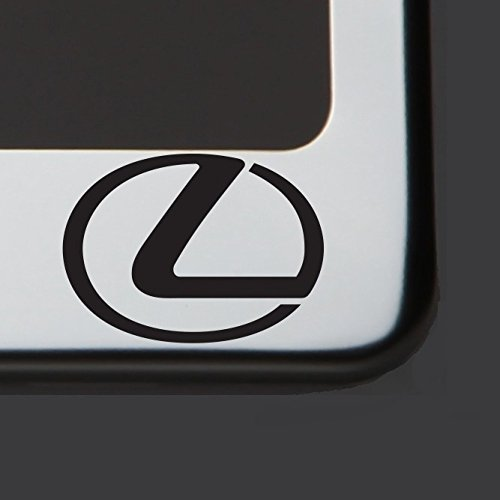 T304 Polish Mirror Stainless Steel Lexus Black Laser Etched License Plate Frame