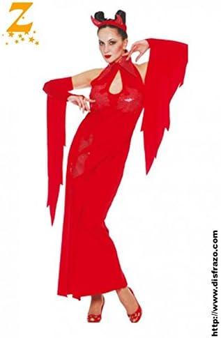 Disfrazzes - Disfraz barato de diablesa para mujer de halloween ...