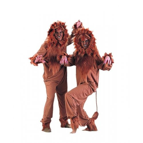 [Charades Men's Lion, As Sample, X-Small] (Cowardly Lion Costumes For Adults)