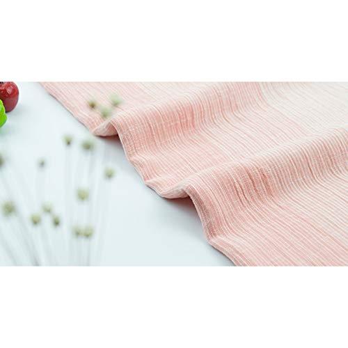 Écharpe pour Femmes en Coton Style Coréen Littéraire Rayures Mode Plissée  Foulard Chaud Châle Serviette de Plage pour Protection Solaire(Rouge)   Amazon.fr  ... c0a6f8eecd3